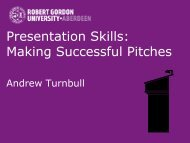 Presentation Skills: Making Successful Pitches