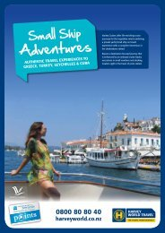 Adventures - Harvey World Travel