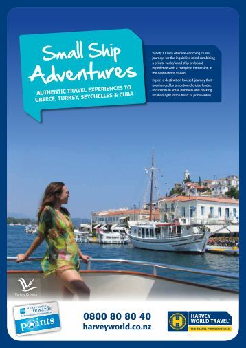Adventures - Harvey World Travel