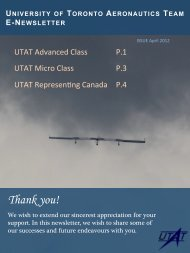 Thank you! - University of Toronto