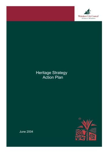 Heritage Strategy Action Plan - Auckland Council