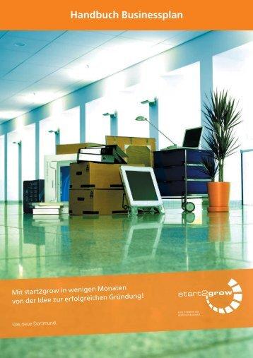 Handbuch Businessplan - Start2grow