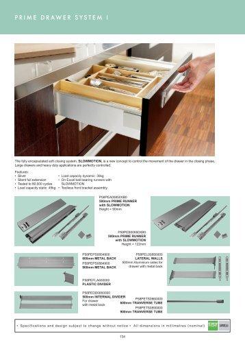 prime drawer system pg134-136 - Roco