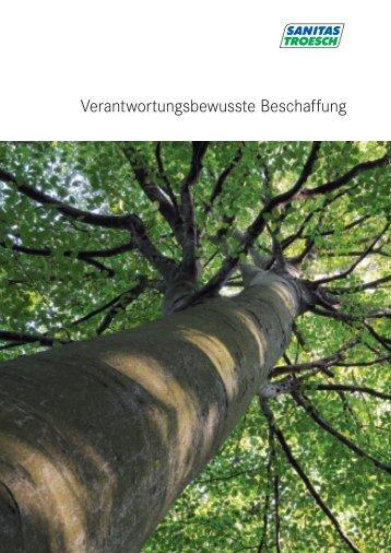 Nachhaltigkeit - Sanitas Troesch AG
