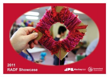 2011 RADF Showcase Booklet - Mackay Regional Council ...