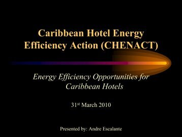 Caribbean Hotel Energy Efficiency Action (CHENACT)