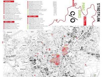 parcours stadtplan - c/o Kunst in und aus Mönchengladbach