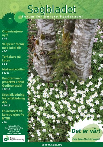 Sagbladet - Norsk Bygdesagforening