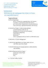 Einladung Druckvorlage - CJD