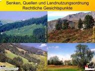 Senken, Quellen und Landnutzungsordnung Rechtliche ...