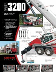 200 ton (181.44 mt) All-Terrain Crane - Kelly Tractor