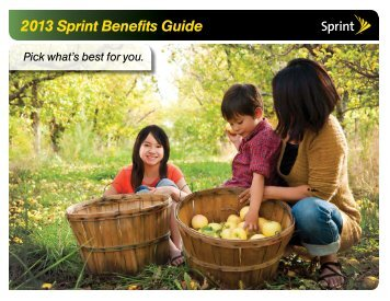 2013 Sprint Benefits Guide