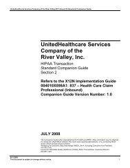 Unitedhealthcare river valley provider login