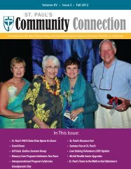 Community Connection · Fall 2012 - St. Paul's Senior Homes ...