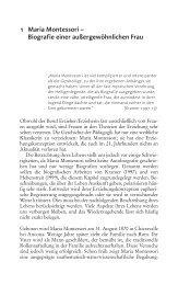 1 Maria Montessori – Biografie einer außergewöhnlichen Frau