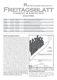Freitagsblatt - waldorf-balingen.de
