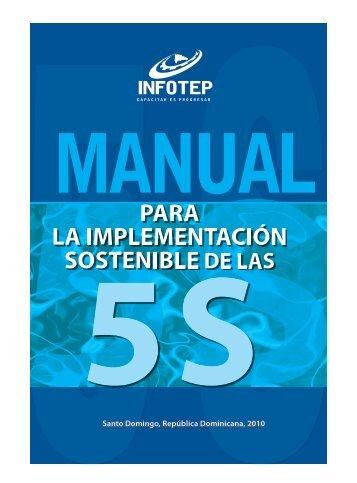 Manual para la Implementación Sostenible de las 5 S ... - Infotep
