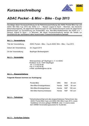Bopfingen - MSC Rockenberg eV im ADAC
