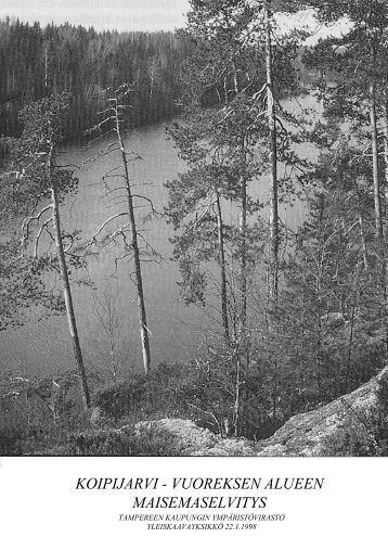 Vuores - osayleiskaava - Tampereen kaupunki