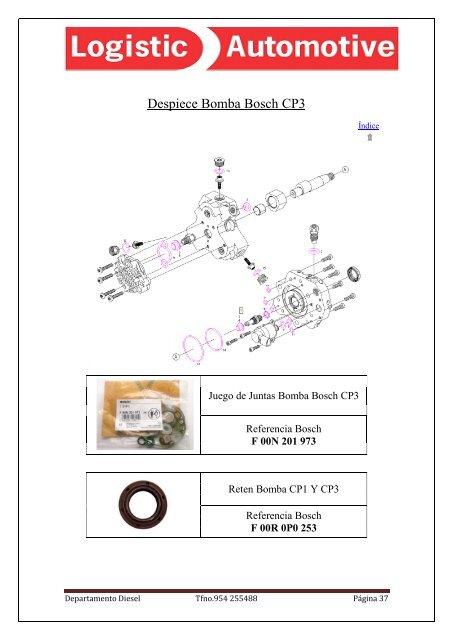 Kit reparaci/ón bomba de agua Yamaha 500/T-MAX 04//11