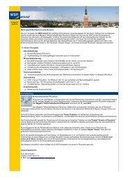 WSP aktuell, Ausgabe Juni 2010 - Wirtschaft und Stadtmarketing ...