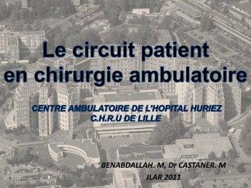 Chirurgie ambulatoire - JLAR
