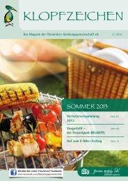 Sommer - Chemnitzer Siedlungsgemeinschaft eG