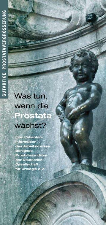 Was tun, wenn die Prostata wächst? - Deutsche Gesellschaft für ...