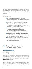 Was tun, wenn die Prostata wächst? - Deutsche Gesellschaft für ... - Seite 6