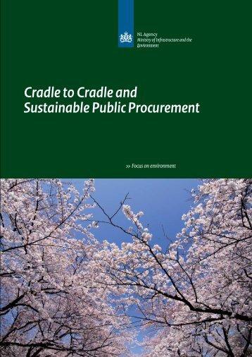 The brochure Cradle to cradle - Agentschap NL