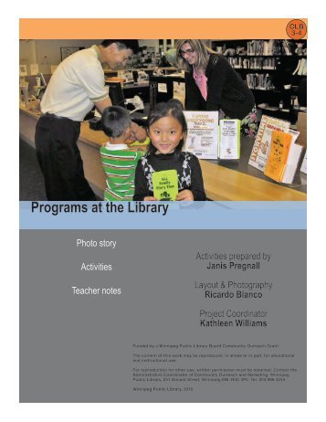 Programs at the Library - Winnipeg Public Library