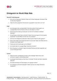 Checkliste, pdf - schönknecht : kommunikation