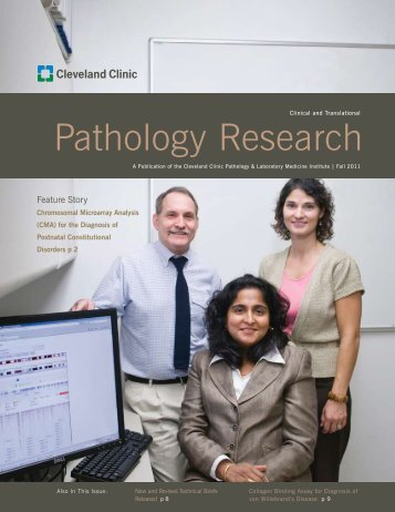 Pathology Research - Cleveland Clinic Laboratories > Home