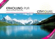Erholung Pur - City Tours