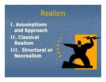 Realism - Rose-Hulman