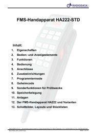 FMS-Handapparat HA222-STD