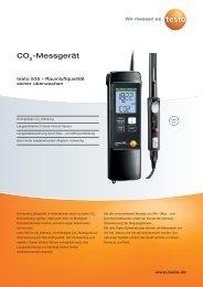 CO -Messgerät - Testo AG