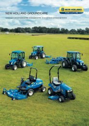 NEW HOLLAND GROUNDCARE
