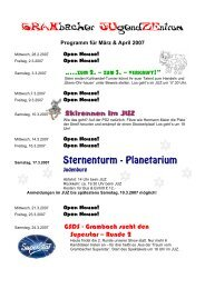 Programm März & April 2007 - Grambach
