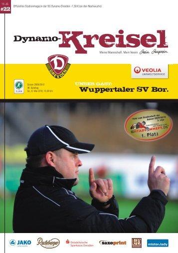 Wuppertaler SV Bor. - Stadionheft.de