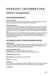 Technische Informationen (pdf) - Jedele