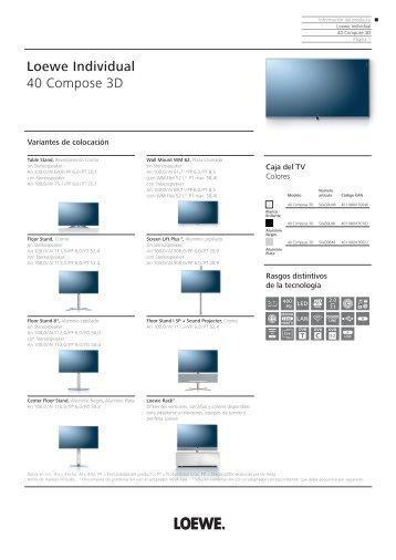 Loewe Individual 40 Compose 3D - Novomusica