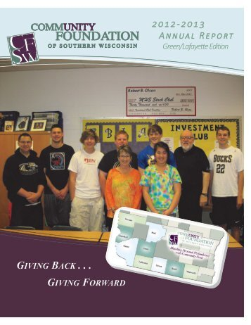 PDF version - Community Foundation of Southern Wisconsin