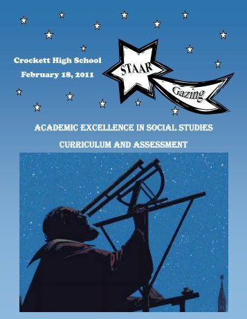 academic excellence in social studies curriculum and assessment