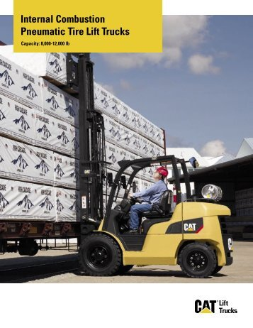 Internal Combustion Pneumatic Tire Lift Trucks - Kelly Tractor
