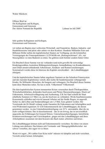 Als PDF - Klassenkampf statt Wahlkampf – Gegen den Notstand der ...