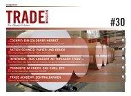 Trade Magazin 30. August 2012 - Swiss Finance & Property AG