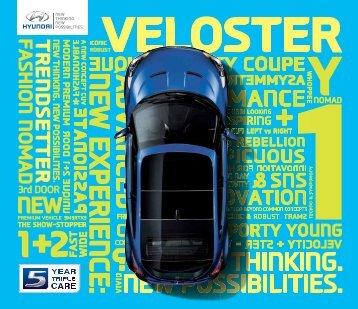 E-Prospekt Hyundai Veloster