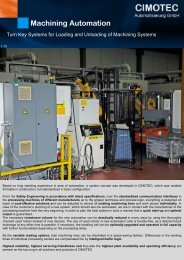 Schleifeinheit CS 45 Machining Automation - CIMOTEC ...