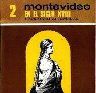 2. Montevideo en el siglo XVIII / Aurora Capilla de Castellanos